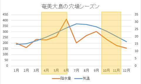 奄美大島の観光穴場シーズン
