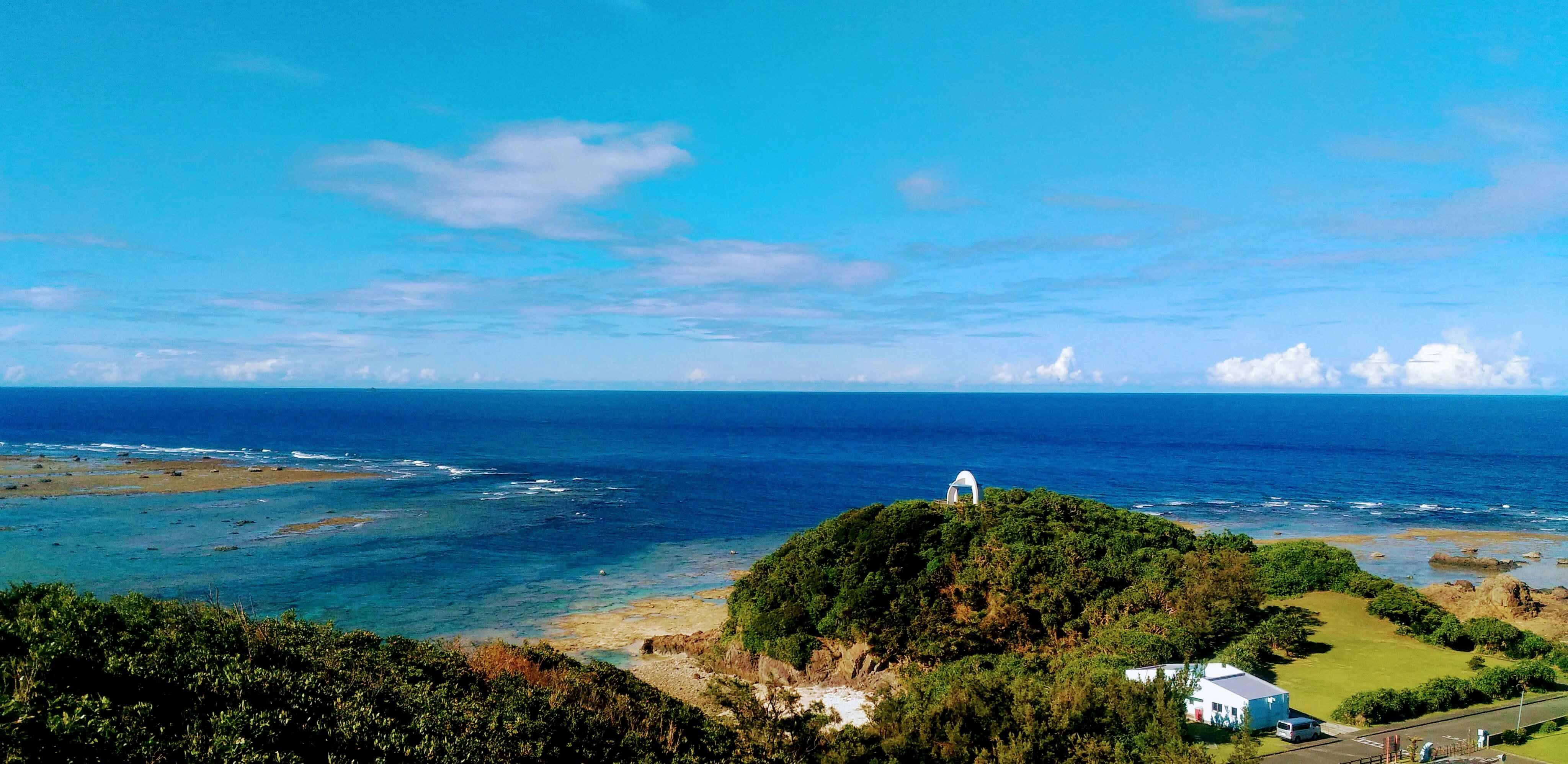 あやまる岬からの眺め