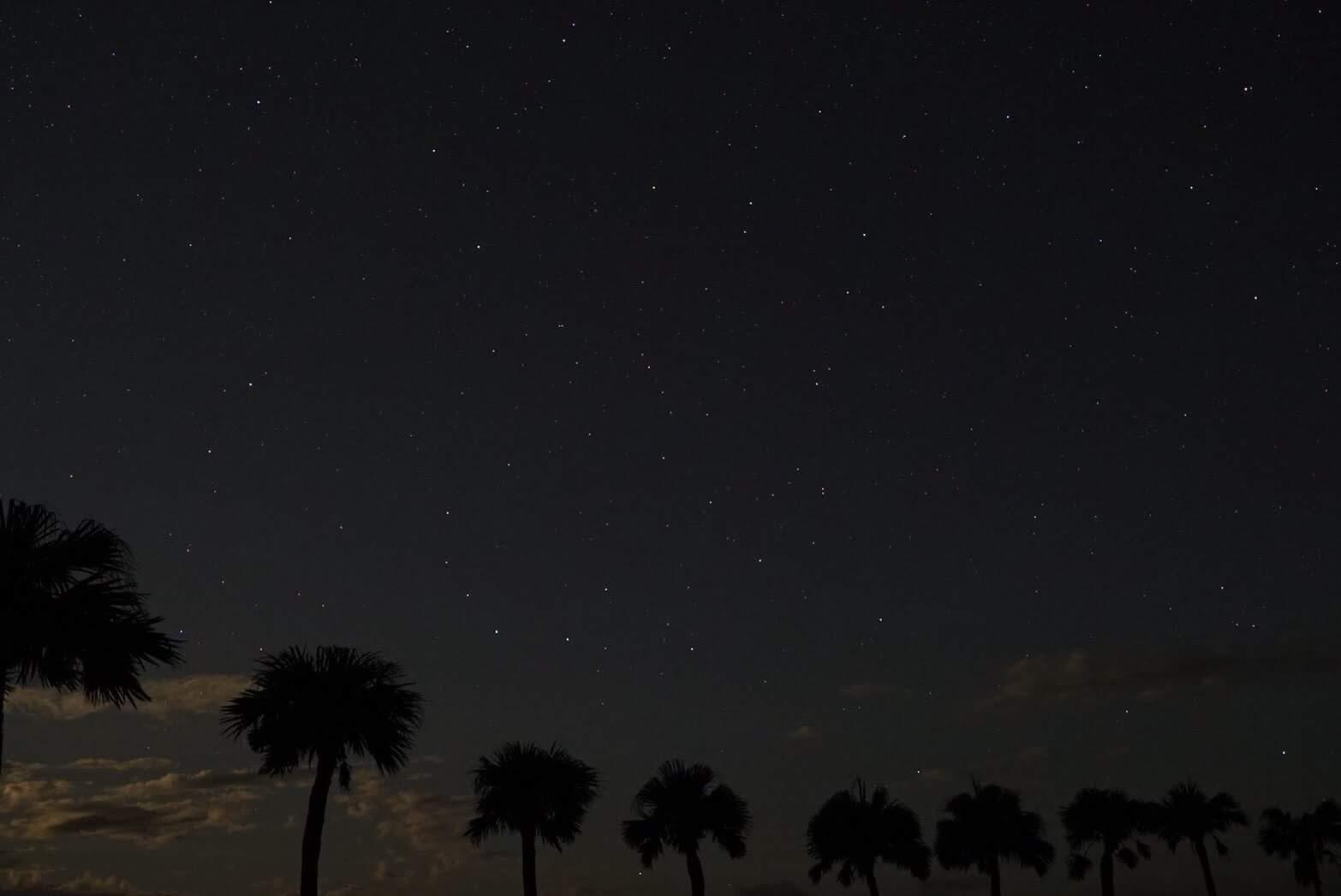大浜の星空