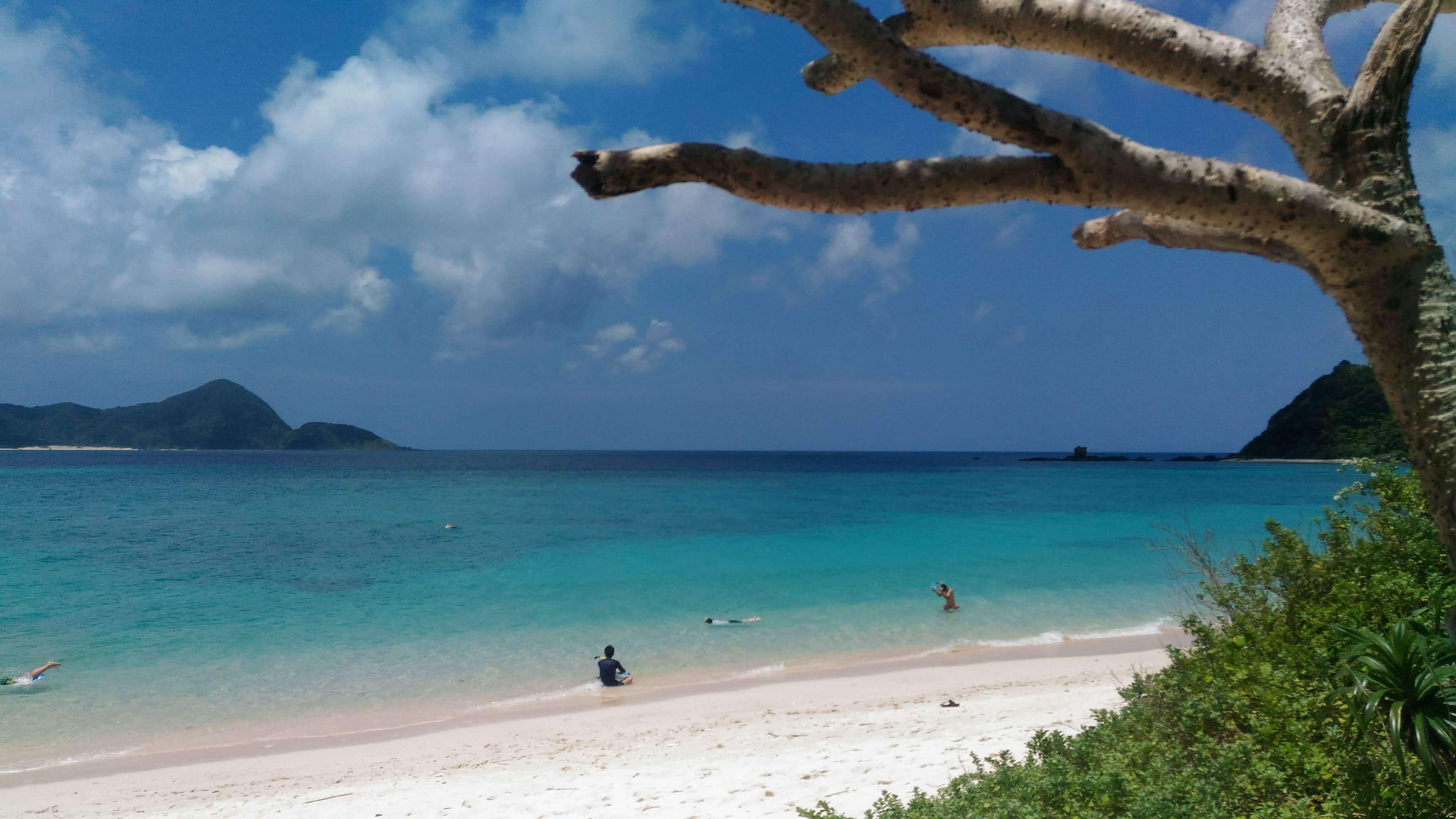 美しい奄美大島のビーチ