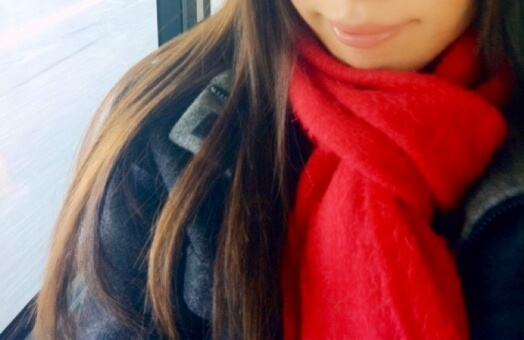奄美大島の冬の服装、マフラー