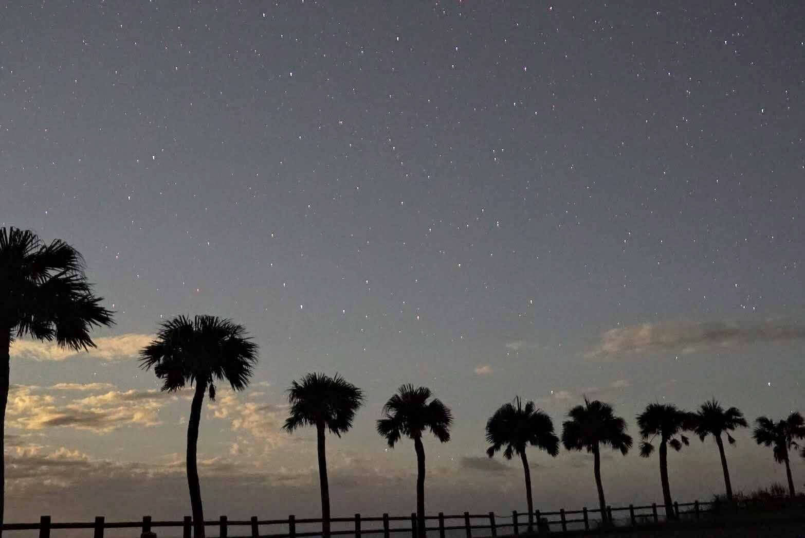奄美大島の星空