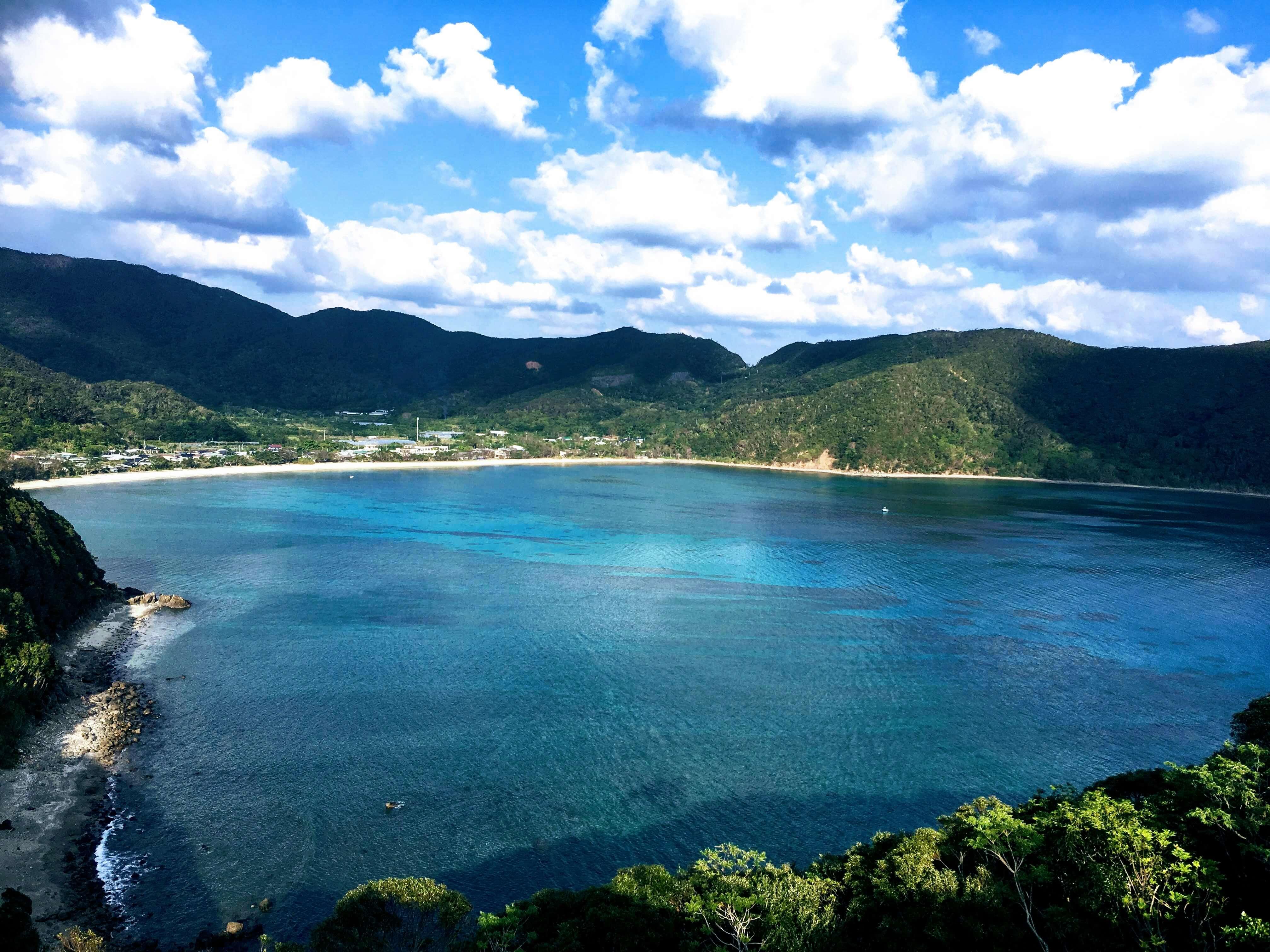 マネン岬展望所からの眺め
