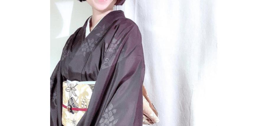 大島紬の着付け