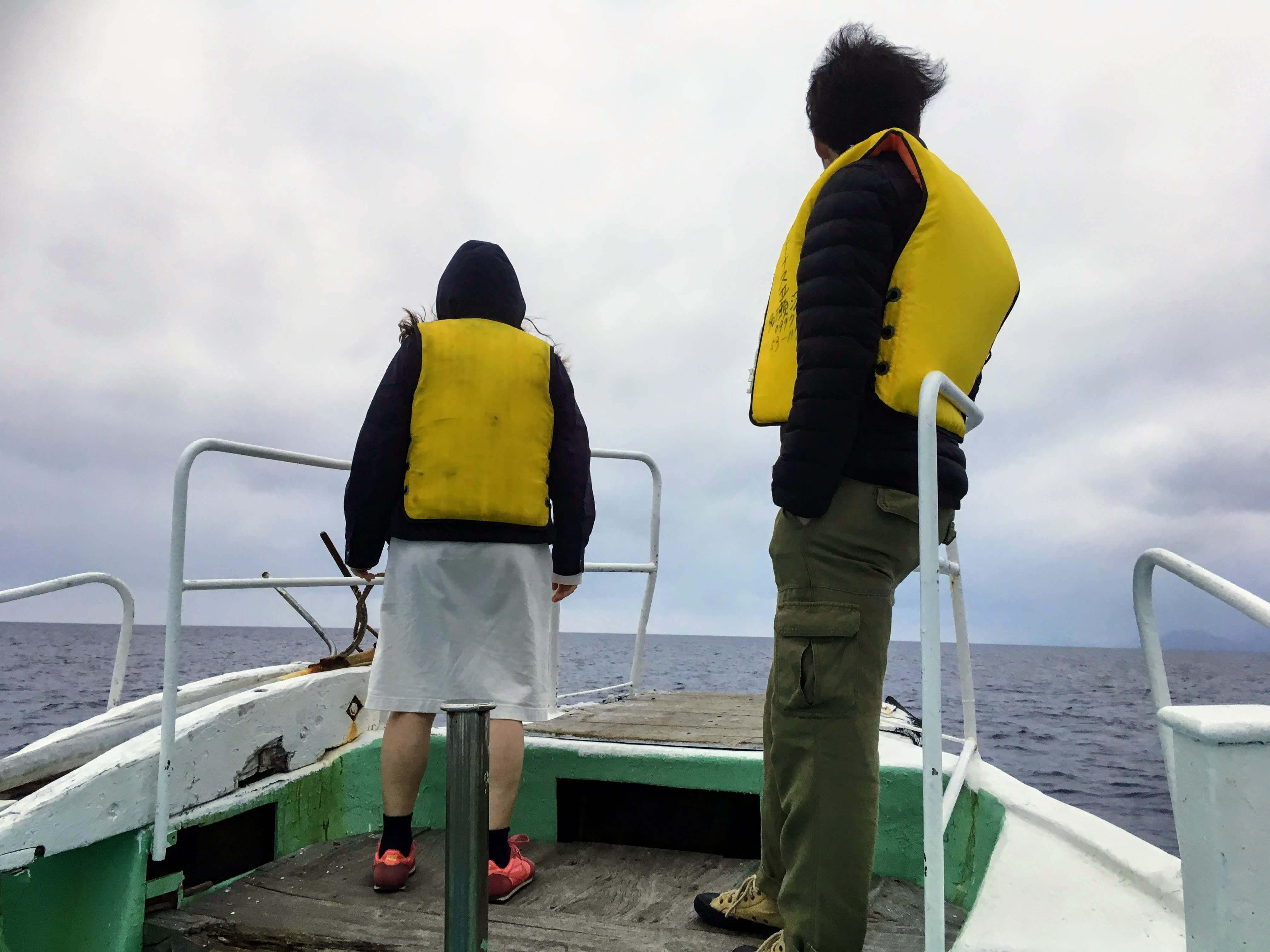奄美大島のホエールウォッチングに適した服装
