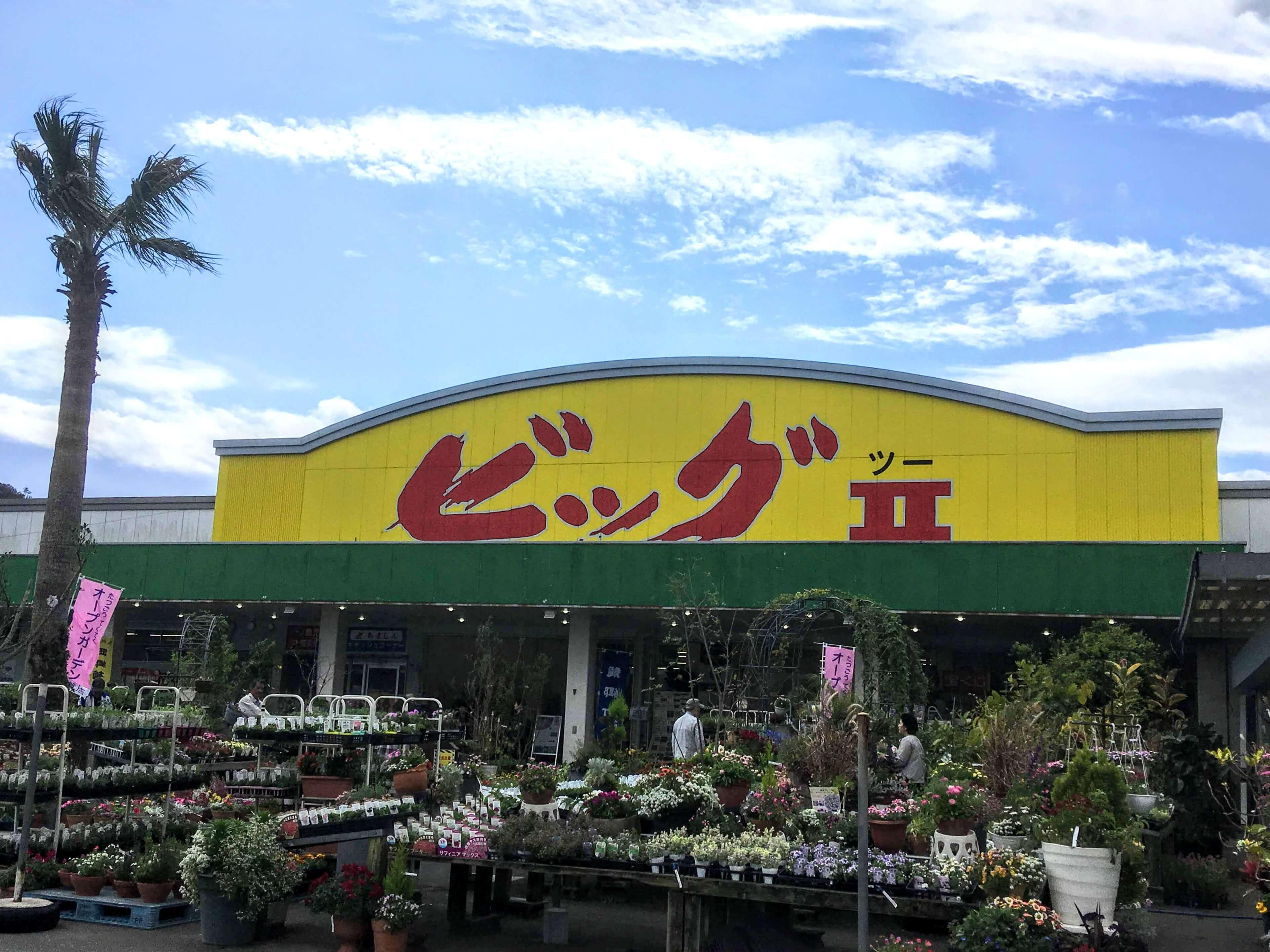スーパービッグツー奄美店(龍郷)