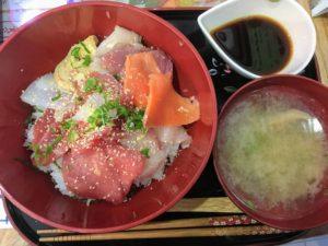あま海の海鮮丼