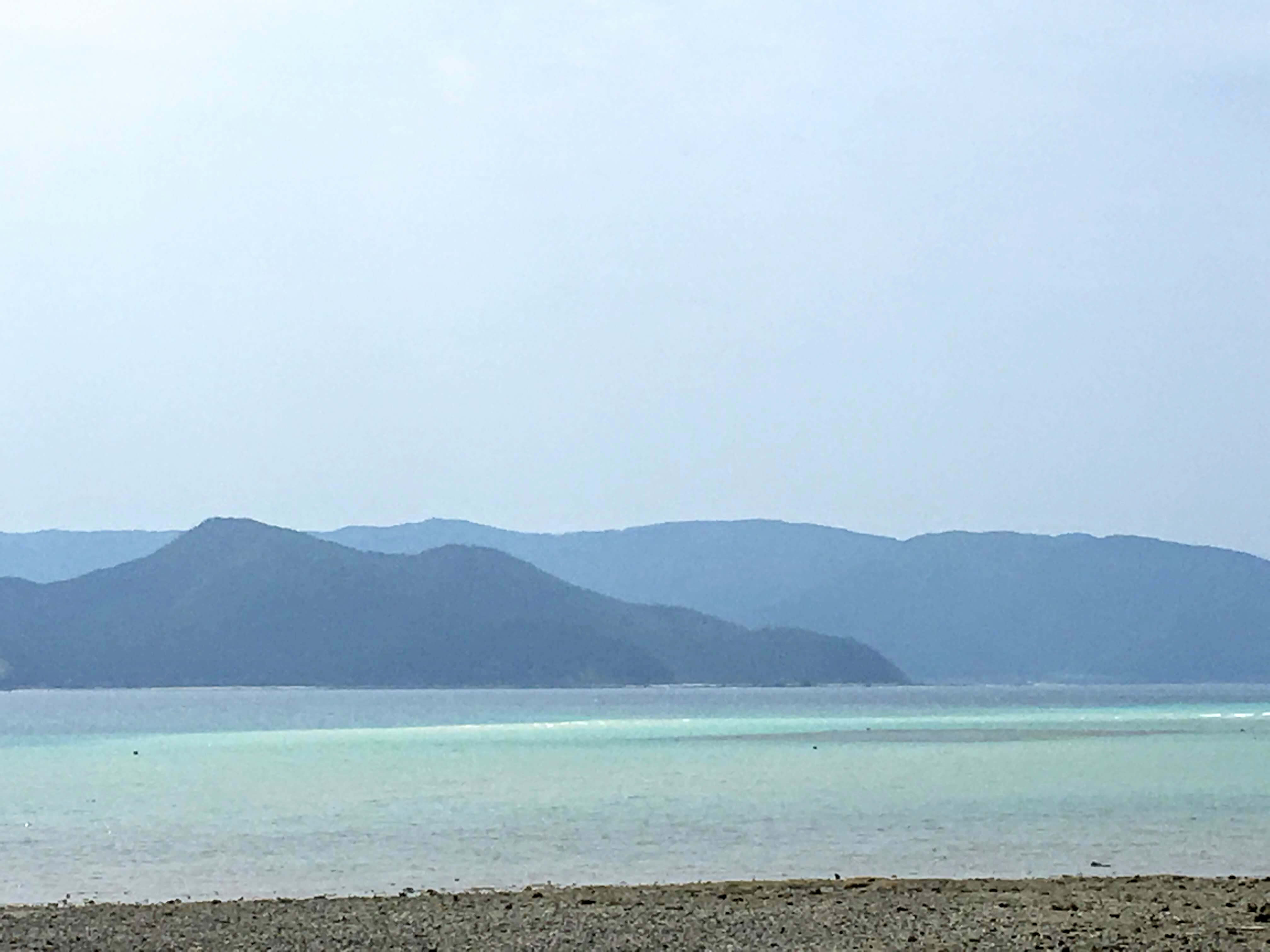 奄美大島のかくれ浜