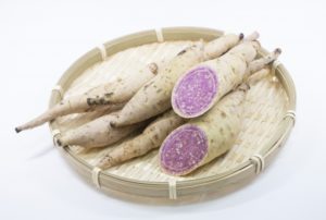 奄美大島の紫芋