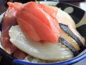 せとうち海の駅の海鮮丼