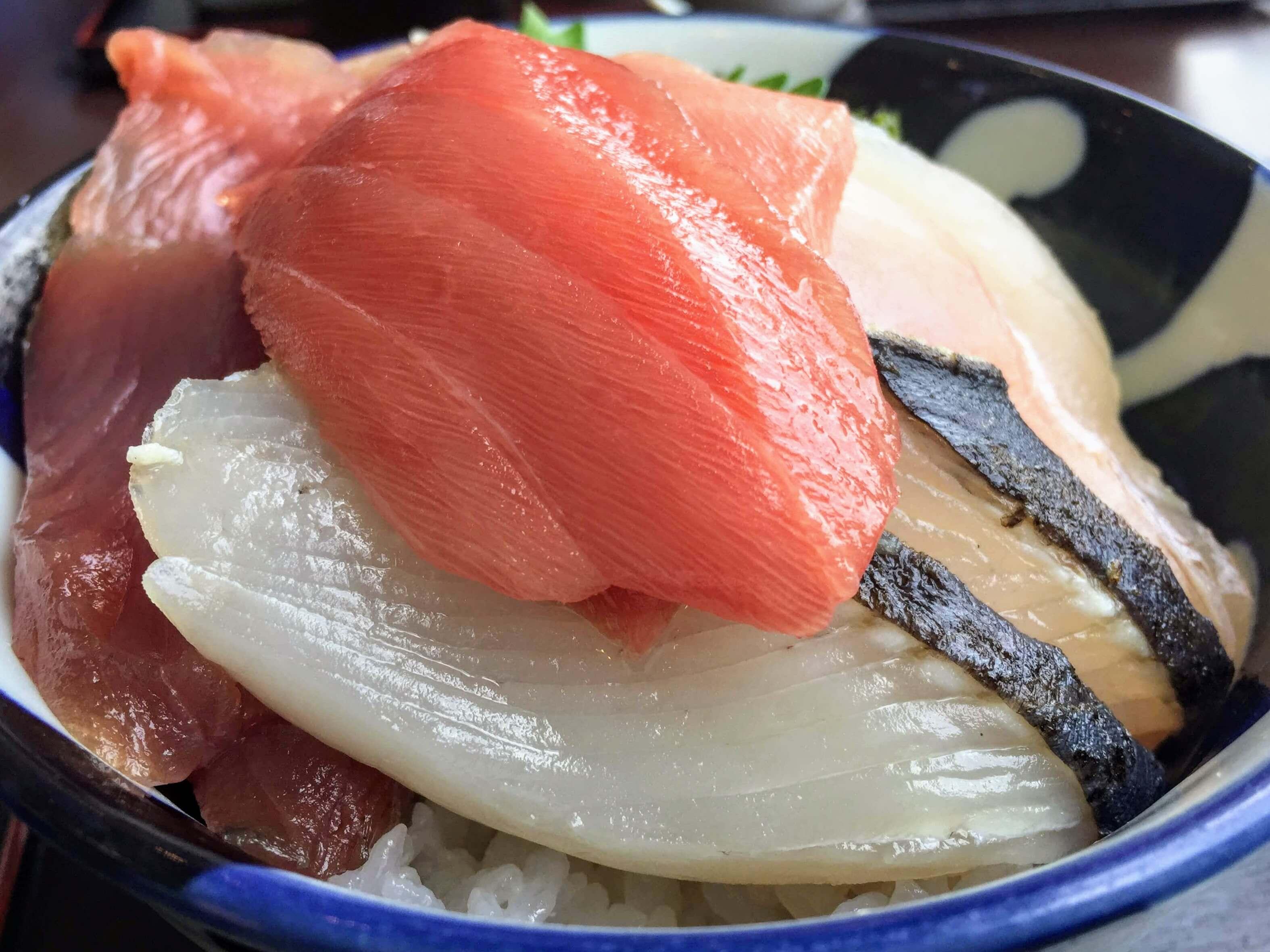 せとうち海の駅の魚料理・海鮮丼