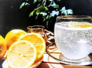 Cafe holidayの生しぼりレモンソーダ