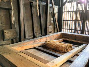 高岡市鋳物資料館のタタラ